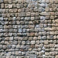 Appareil cubique du mur sud de la nef (1996)