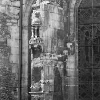 Contrefort-niche de l'abside (1996)