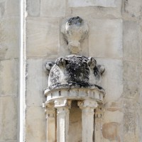 Contrefort-niche de l'abside (2015)