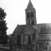 L'église vue du nord, en 1910 (Gallica)
