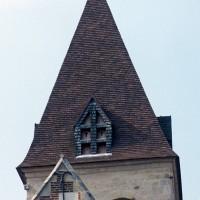 Le clocher vu du nord-est (1997)