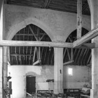 Vue partielle de la nef vers le sud (1997)