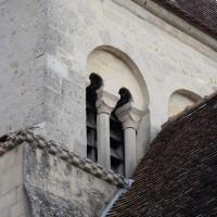 Vue partielle du clocher depuis le sud-est (2018)
