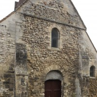 La façade ouest de la nef (2018)