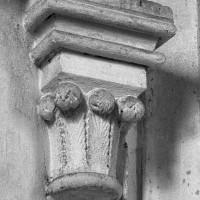 Chapiteau de l'ensemble choeur-transept du 3ème quart du 12ème siècle (1997)
