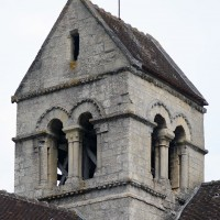 Le clocher vu du sud-ouest (2017)