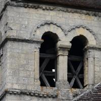 L'étage du beffroi du clocher vu du sud-est (2017)