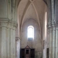 Le bras sud du transept vu vers le sud (1997)