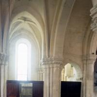 La croisée du transept et le bras nord vus vers le nord (1997)