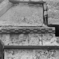 Moulure de billettes du mur est du choeur (1995)