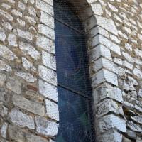 Fenêtre de la première travée du mur nord de la nef (2015)