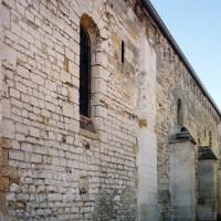 Le mur nord de la nef vu du nord-est (2015)