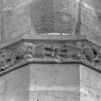 Frise sculptée dans le bas-côté nord (1997)