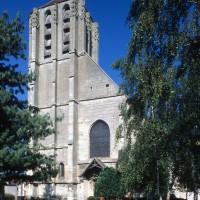 Vue partielle de la façade ouest depuis le sud-ouest (1997)