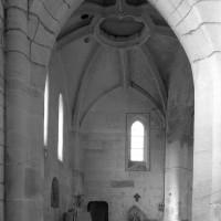 La base du clocher vue vers le nord (1997)