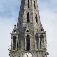 Le clocher et la flèche vus du sud (2015)