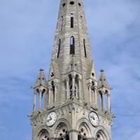 Le clocher et la flèche vus du sud-est (2015)