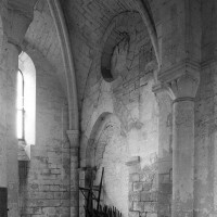 Le bras sud du transept vu vers le sud-ouest (1995)