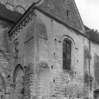 Le bras sud du transept vu du sud-ouest (1995)