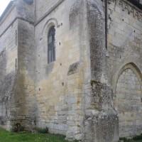 Le bras nord du transept et la chapelle nord-est vus du nord-ouest (2015)
