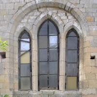 La fenêtre nord de la chapelle nord-est (2015)