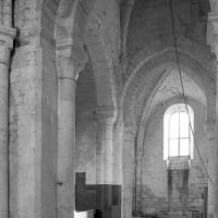Le transept vu vers le sud-est (1979)