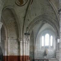 Le choeur et la chapelle nord vus vers le nord (1995)