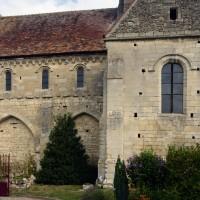 La nef et le bras sud du transept vus du sud (2015)