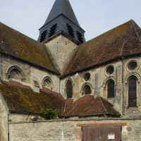 Le transept sud et le choeur vus du sud-est (2015)