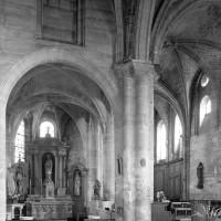 La chapelle nord et le choeur vus vers l'est