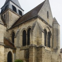 Le bras sud du transept vu du sud-ouest (2015)