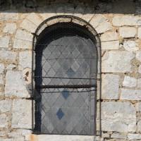 Fenêtre du mur gouttereau sud de la nef (2016)