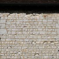 Vue partielle du mur gouttereau sud de la nef (2016)