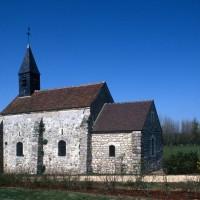 La chapelle dans son environnement vue du sud-est (1995)