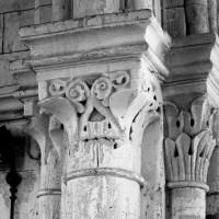 Chapiteaux de la travée du clocher
