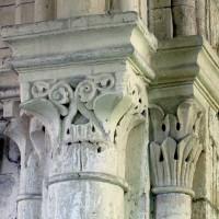 Chapiteaux de la travée du clocher (1994)