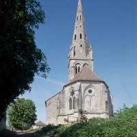 L'église vue de l'est (1994)