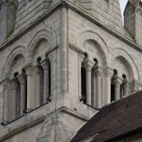L'étage du beffroi du clocher vu du sud-est (2016)