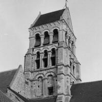 Le clocher vu depuis le nord (1974)