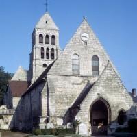 La nef et le clocher vus du nord-ouest (1973)
