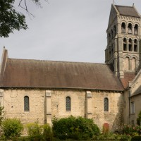 La nef et le clocher vus du sud (2015)