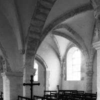 La chapelle sud vue vers le sud-est depuis la nef (1995)