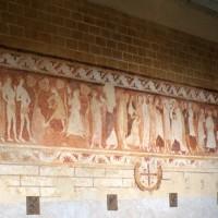 La fresque du mur nord de la nef (1996)