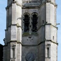 Le clocher vu de l'ouest (1992)