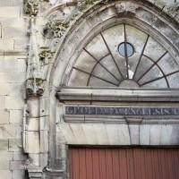 Le tympan du portail nord de la partie flamboyante de la façade ouest (2018)