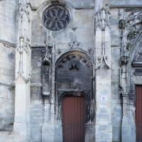 Le portail nord de la partie flamboyante de la façade ouest (2018)