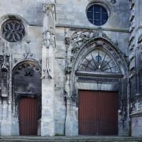 La partie gothique flamboyant de la façade ouest (2018)