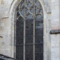 Fenêtre du bas-côté nord de la nef (2018)