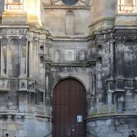 Le portail renaissance de la façade ouest (2018)