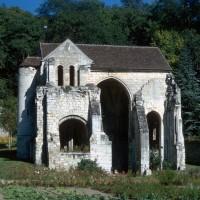 L'église vue de l'ouest (1971)